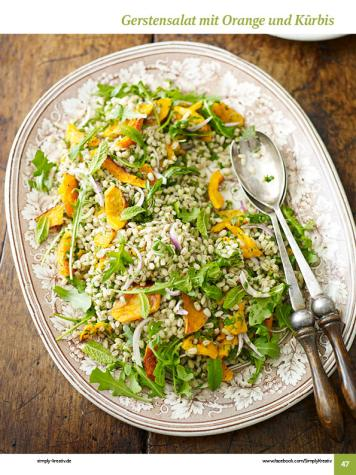 Rezept - Gerstensalat mit Orange und Kürbis - Simply Kochen Sonderheft: One-Pot-Gerichte