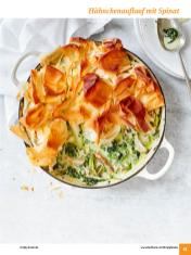 Rezept - Hähnchenauflauf mit Spinat - Simply Kochen Sonderheft: One-Pot-Gerichte