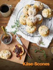 Rezept - Käse-Scones - Vegan Food & Living – 05/2020