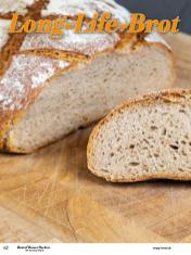 Rezept - Long-Life-Brot - Best of Besser Backen mit Tommy Weinz – 01/2021