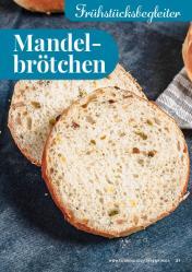Rezept - Mandelbrötchen - Simply Backen kompakt Brötchen – 01/2020