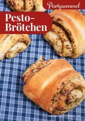 Rezept - Pesto-Brötchen - Simply Backen kompakt Brötchen – 01/2020