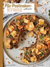 Rezept - Pilz-Pastinakenkranz mit Parmesan - Simply Kochen Weihnachten 01/2020