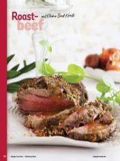 Rezept - Roastbeef mit Oliven-Senf-Kruste - Simply Kochen Weihnachten 01/2020