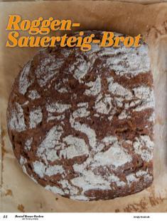 Rezept - Roggen-Sauerteig-Brot - Best of Besser Backen mit Tommy Weinz – 01/2021