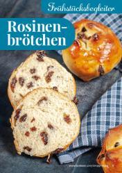 Rezept - Rosinenbrötchen - Simply Backen kompakt Brötchen – 01/2020