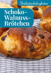 Rezept - Schoko-Walnuss-Brötchen - Simply Backen kompakt Brötchen – 01/2020
