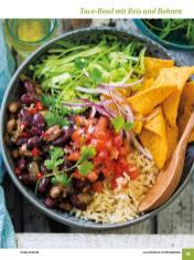Rezept - Taco-Bowl mit Reis und Bohnen - Simply Kochen Sonderheft: One-Pot-Gerichte