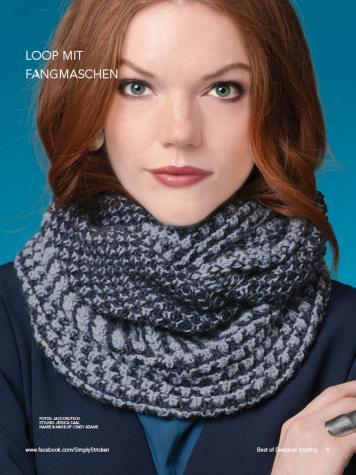 Strickanleitung - Loop mit Fangmaschen - Best of Designer Knitting 01/2021