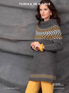 Strickanleitung - Tunika in A-Linie - Best of Designer Knitting 01/2021