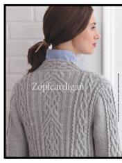 Strickanleitung - Zopfcardigan - Best of Designer Knitting 01/2021