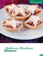 Rezept - Aprikosen-Haselnuss-Minitarte - Simply Backen Special Weihnachten 01/2020