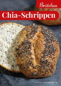 Rezept - Chia-Schrippen - Simply Backen kompakt Vollkorn – 01/2021