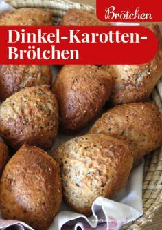 Rezept - Dinkel-Karotten-Brötchen - Simply Backen kompakt Vollkorn – 01/2021