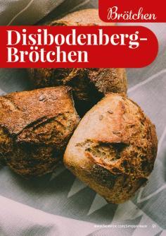 Rezept - Disibodenberg-Brötchen - Simply Backen kompakt Vollkorn – 01/2021