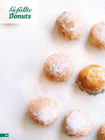 Rezept - Gefüllte Donuts - Simply Backen Special Weihnachten 01/2020