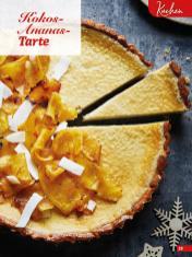 Rezept - Kokos-Ananas-Tarte - Simply Backen Special Weihnachten 01/2020