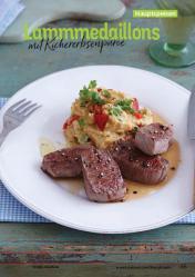 Rezept - Lammmedaillons mit Kichererbsenpüree - Simply Kochen Kompakt Low Carb 01/2021