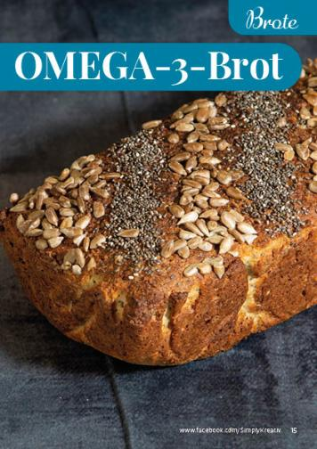 Rezept - OMEGA-3-Brot - Simply Backen kompakt Vollkorn – 01/2021