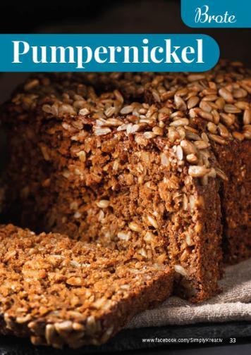 Rezept - Pumpernickel - Simply Backen kompakt Vollkorn – 01/2021