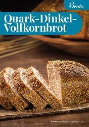 Rezept - Quark-Dinkel-Vollkornbrot - Simply Backen kompakt Vollkorn – 01/2021