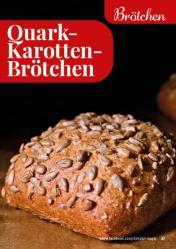 Rezept - Quark-Karotten-Brötchen - Simply Backen kompakt Vollkorn – 01/2021