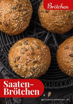 Rezept - Saaten-Brötchen - Simply Backen kompakt Vollkorn – 01/2021