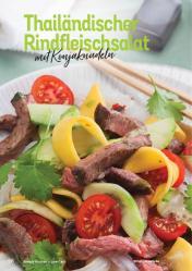 Rezept - Thailändischer Rindfleischsalat mit Konjaknudeln - Simply Kochen Kompakt Low Carb 01/2021
