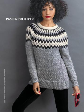 Strickanleitung - Passenpullover - Best of Designer Knitting 02/2021