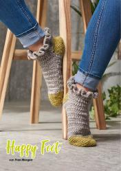 Häkelanleitung - Happy Feet - Simply Häkeln Kompakt Sonderheft Socken 01/2021