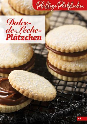 Rezept - Dulce-de-Leche-Plätzchen - Simply Backen Kekse 04/2020