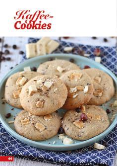 Rezept - Kaffee-Cookies - Simply Backen Kekse 04/2020