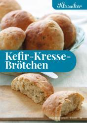 Rezept - Kefir-Kresse-Brötchen - Simply Backen Kompakt Brötchen 02/2021