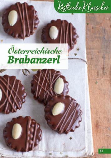 Rezept - Österreichische Brabanzerl - Simply Backen Kekse 04/2020