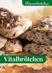 Rezept - Vitalbrötchen - Simply Backen Kompakt Brötchen 02/2021