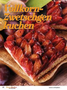 Rezept - Vollkorn-Zwetschgenkuchen - Best of Besser Backen mit Tommy Weinz – 02/2021