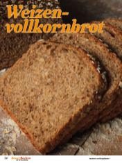 Rezept - Weizenvollkornbrot - Best of Besser Backen mit Tommy Weinz – 02/2021