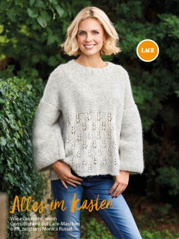 Strickanleitung - Alles im Kasten - Simply Stricken Sonderheft Best of Pullover & Shirts 02/2020