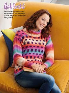 Strickanleitung - Geblockt - Simply Stricken Sonderheft Best of Pullover & Shirts 02/2020