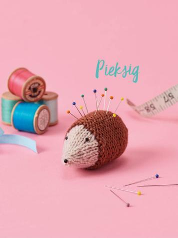 Strickanleitung - Pieksig - Best of Simply Stricken Home-Deko 01/2021