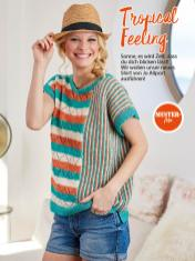 Strickanleitung - Tropical Feeling - Simply Stricken Sonderheft Best of Pullover & Shirts 02/2020