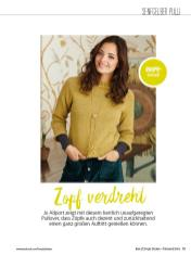Strickanleitung - Zopf verdreht - Simply Stricken Sonderheft Best of Pullover & Shirts 02/2020