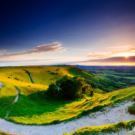 Devils Dyke sunset photo