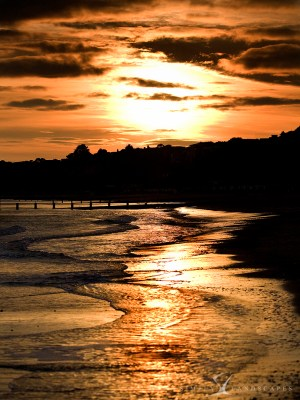 Bournemouth sunset