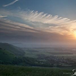 Devils Dyke sunset