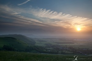Devils Dyke sunset