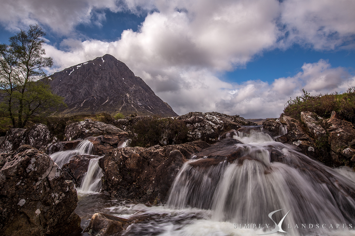 Buachaille waterfalls