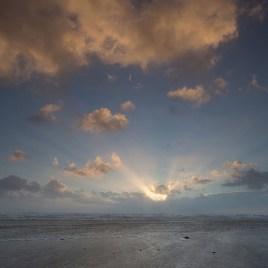 Bracklesham winter sunset
