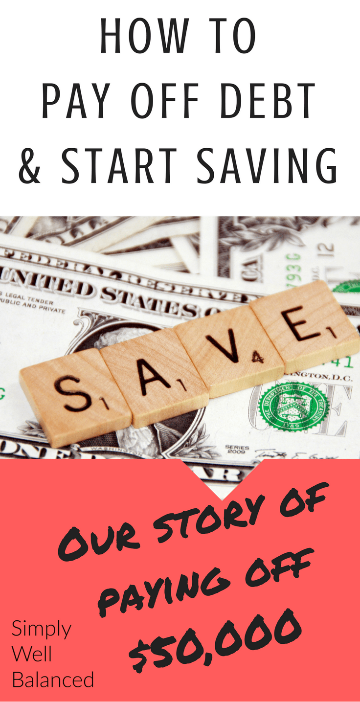 How this couple paid off $50,000 | Simple tricks to pay off debt | Start Saving Money | Start and emergency fund | Get out of debt fast|