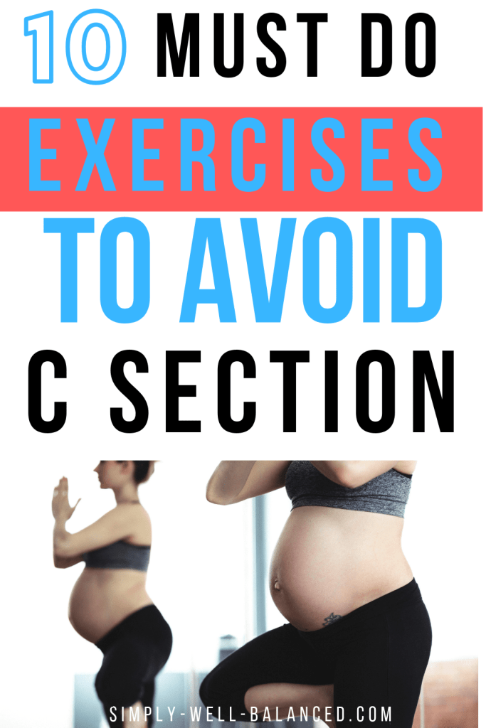 Pregnancy Exercises to Avoid C Section